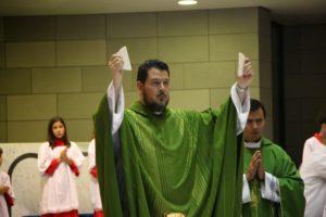 2012 - Padre Marcos Luis nomeado pároco- Paróquia Nossa Senhora da Esperança, Asa Norte, Brasília-DF