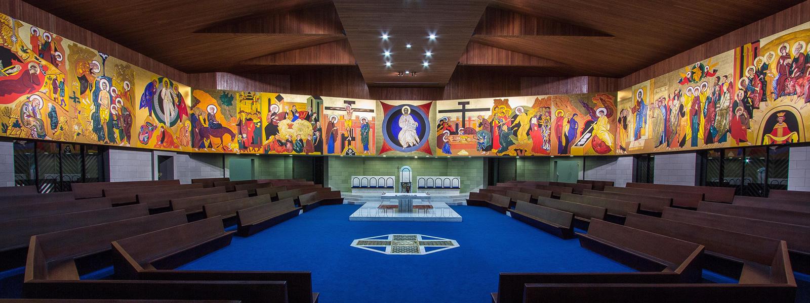 Espaço Litúrgico - Paróquia Nossa Senhor da Esperança - Asa Norte, Brasília/DF