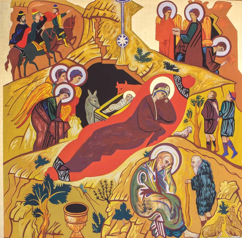 Natividade de Cristo - Coroa Mistérica - Paróquia Nossa Senhor da Esperança - Asa Norte, Brasília/DF