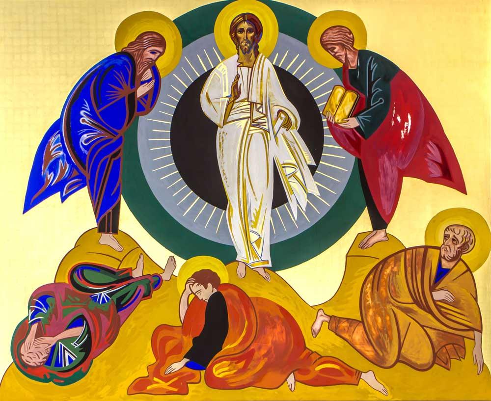 Transfiguração de Cristo - Coroa Mistérica - Paróquia Nossa Senhor da Esperança - Asa Norte, Brasília/DF