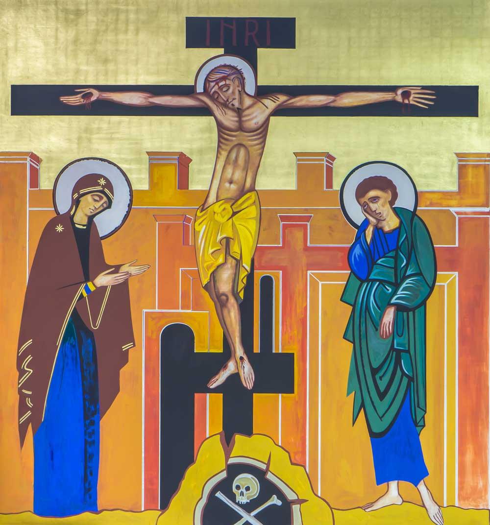 Crucifixão de Cristo - Coroa Mistérica - Paróquia Nossa Senhor da Esperança - Asa Norte, Brasília/DF