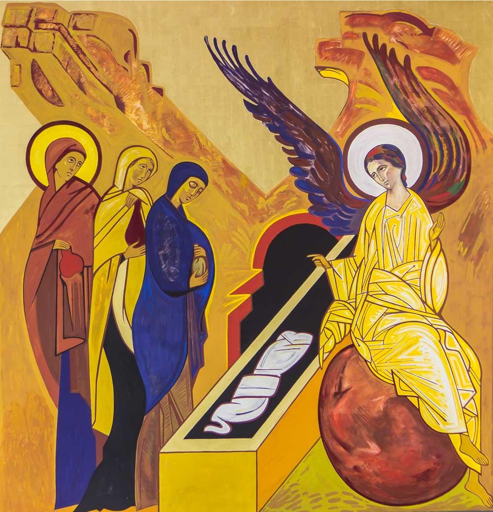 Ressurreição de Cristo - Coroa Mistérica - - Paróquia Nossa Senhor da Esperança - Asa Norte, Brasília/DF