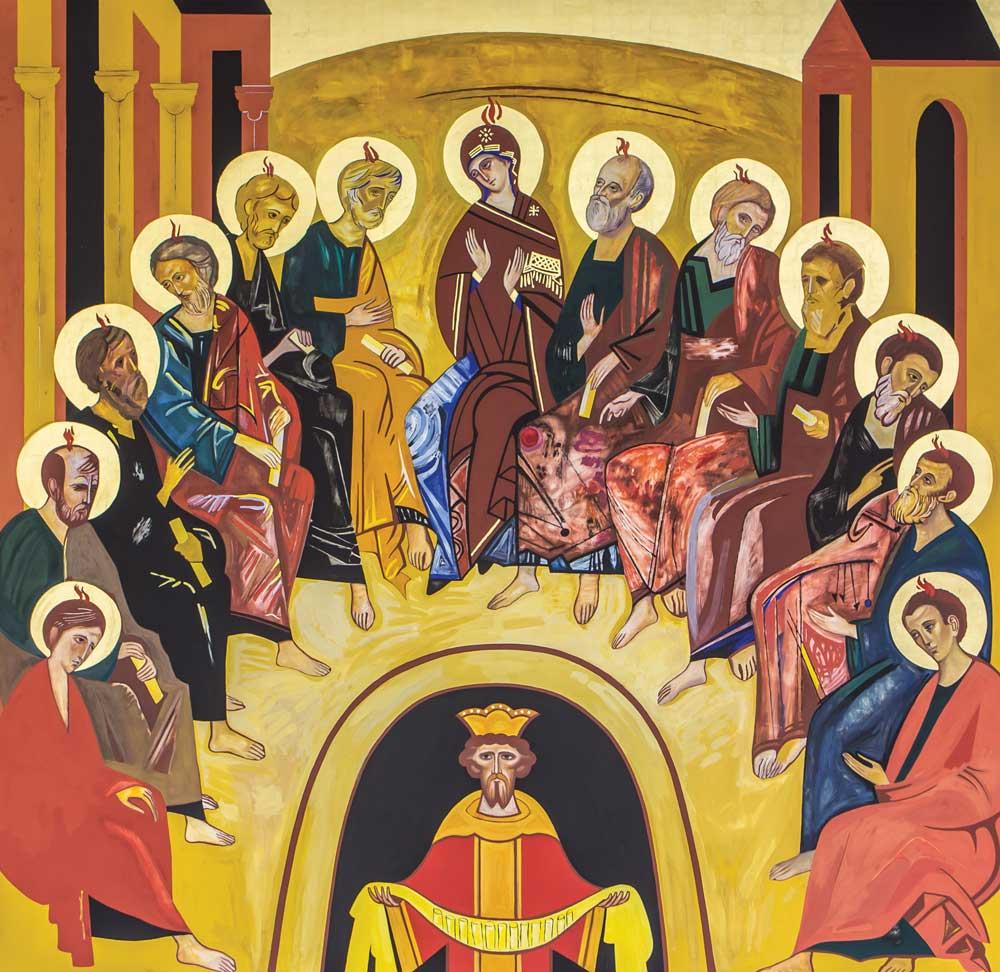 Pentecostes - Coroa Mistérica - - Paróquia Nossa Senhor da Esperança - Asa Norte, Brasília/DF