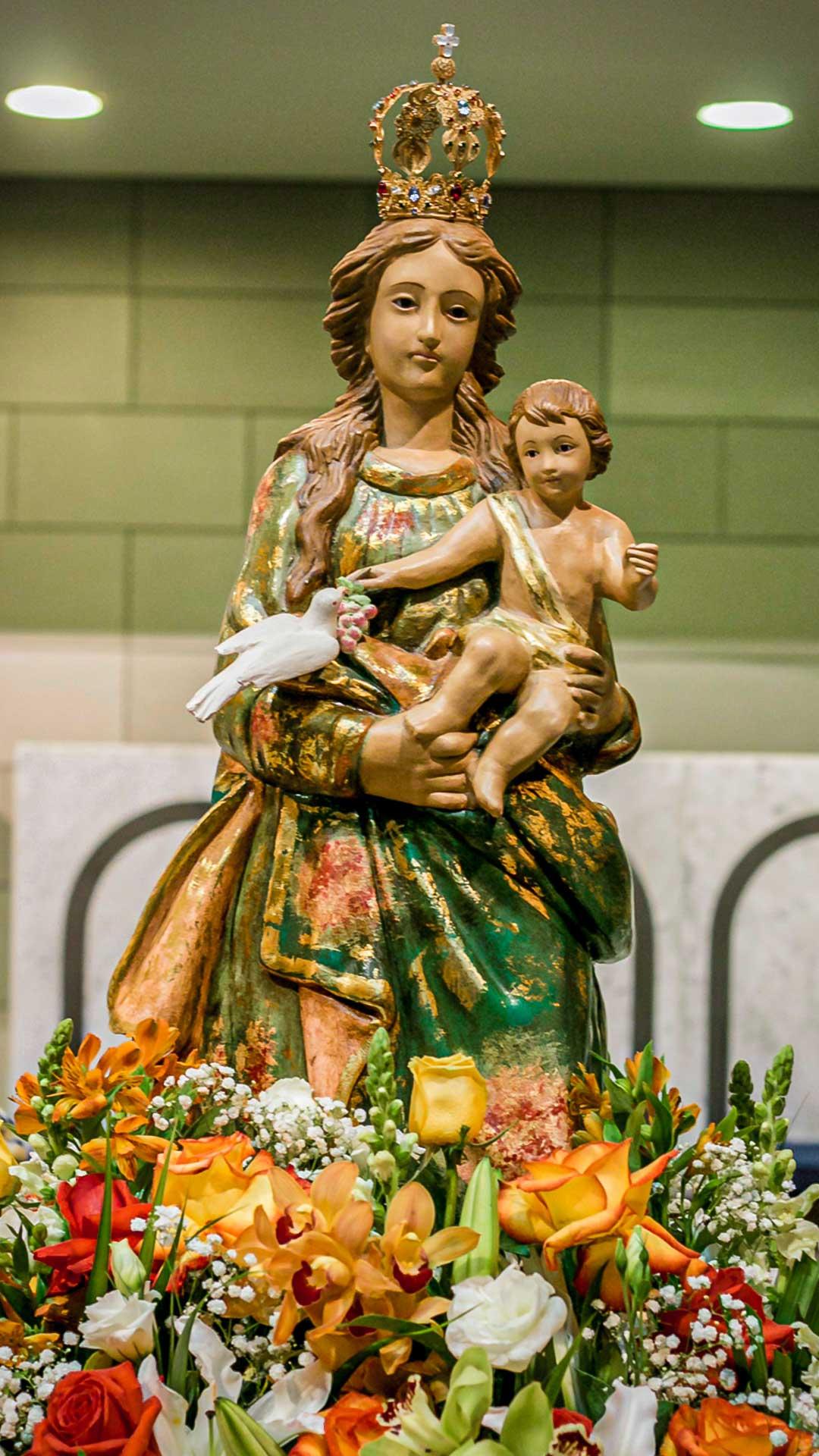 Padroeira - Paróquia Nossa Senhora da Esperança, Asa Norte, Brasília-DF