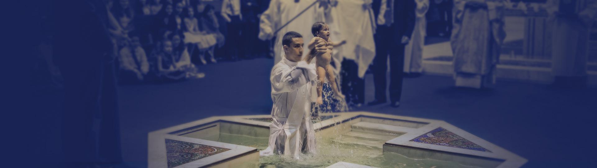 Batismo - Paróquia Nossa Senhora da Esperança, Asa Norte, Brasília-DF