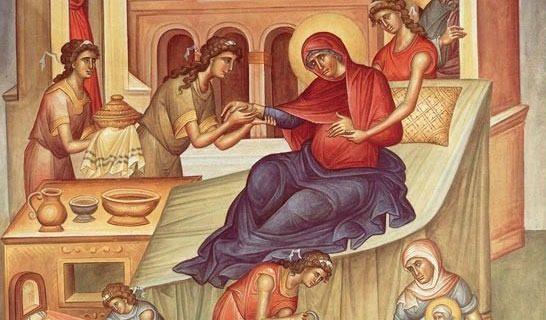 Natividade da Santa Mãe de Deus. Foto: www.ecclesia.com.br